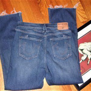 true religion Becca size 28 blue denim jeans women